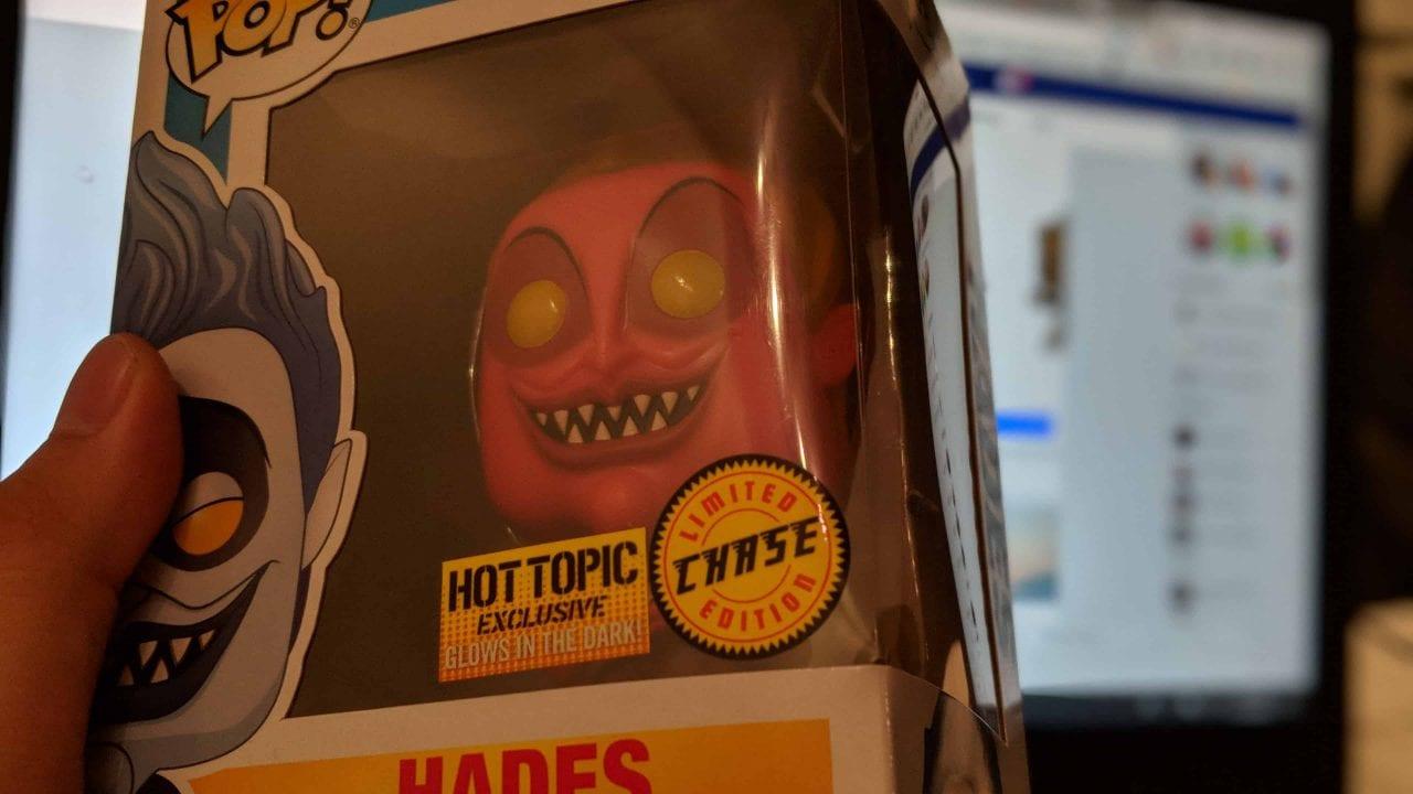 Hades chase Funko Pop!