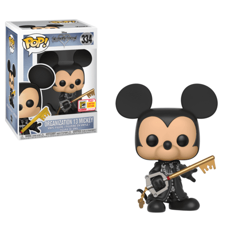 Organization 13 Unhooded Mickey SDCC 2018