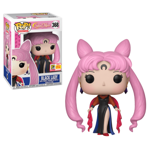 Hot Topic Black Lady Sailor Moon SDCC 2018