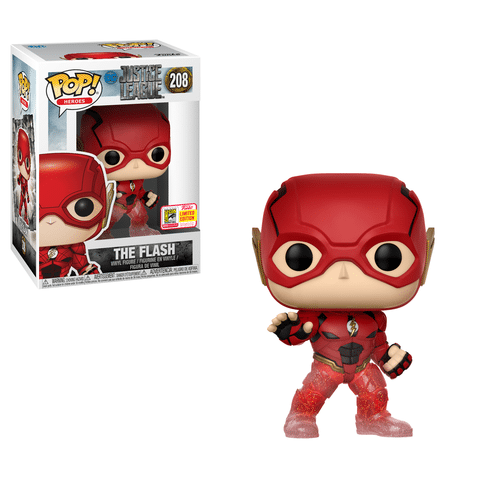 Box Lunch Flash Justice League Running SDCC 2018