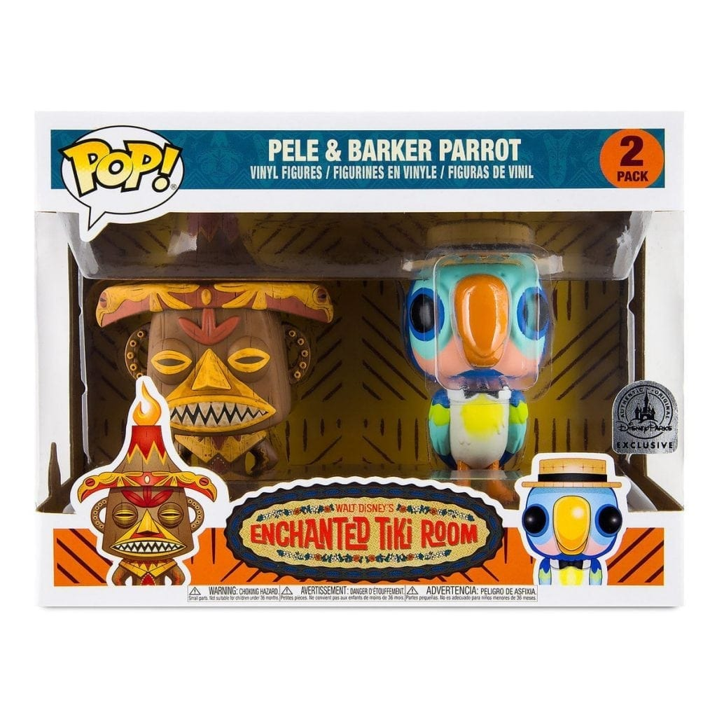 Pele and Barker Bird POP! Enchanted Tiki Room Park Exclusive