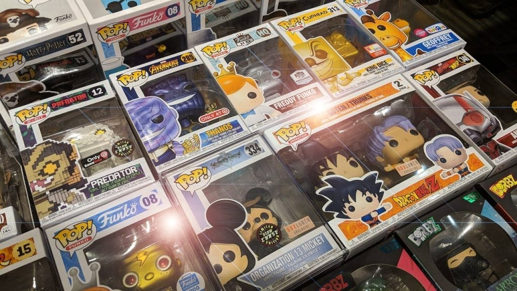 Pop Collectors Alliance Booth at GeekFest 2018