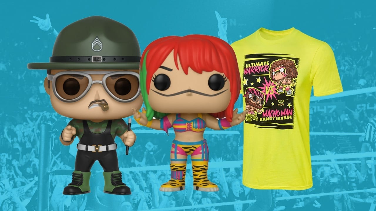 WWE Shop sale on Pops