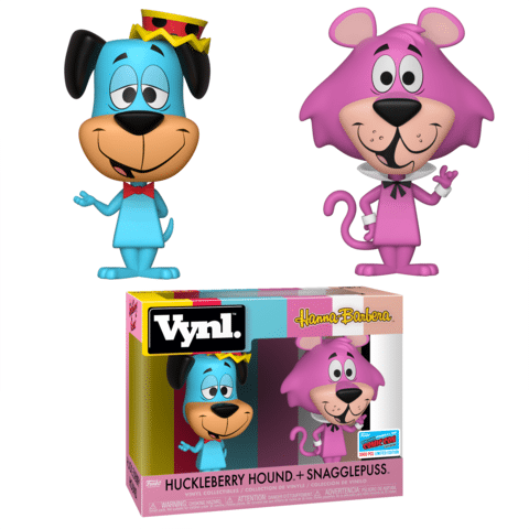 Huckleberry Hound and Snagglepuss Vynl NYCC 2018