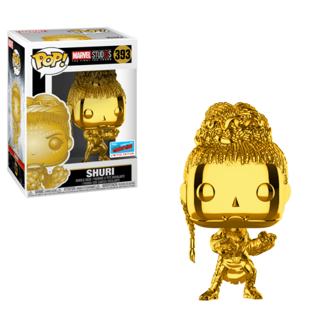 Gold Chrome Shuri NYCC 2018 shared exclusive