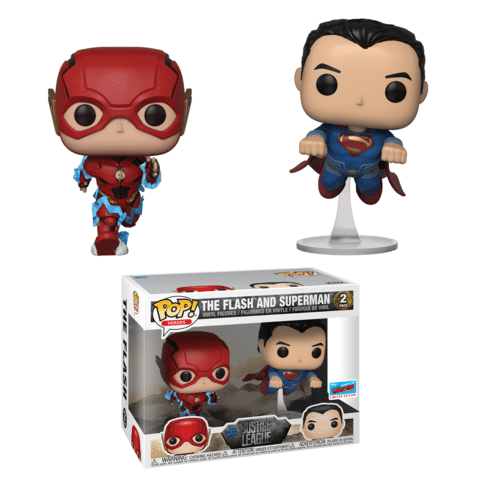 The Flash and Superman Racing NYCC 2018 shared exclusive