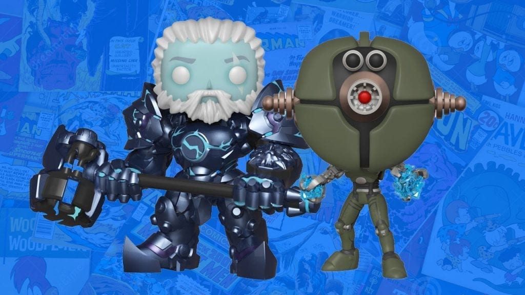 NYCC 2018 Funko Shared Exclusive Video Games: Reinhardt and Assaultron