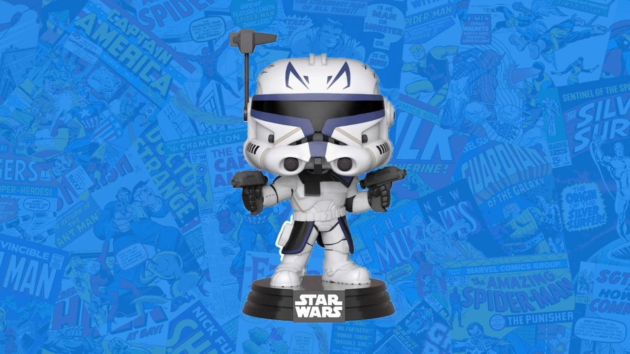NYCC 2018 shared exclusive Star Wars Clone Wars