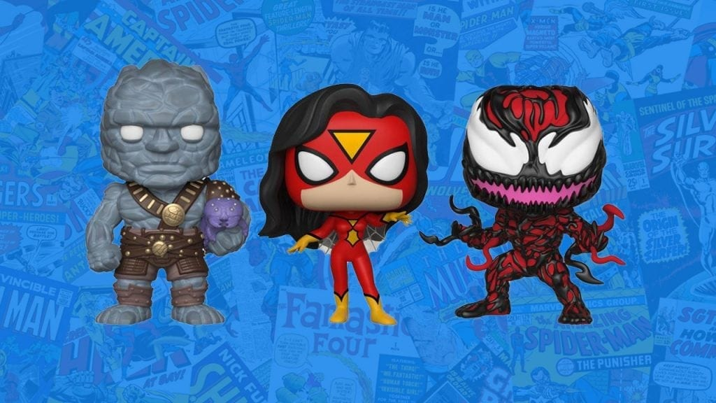 NYCC 2018 Marvel Shared Exclusives
