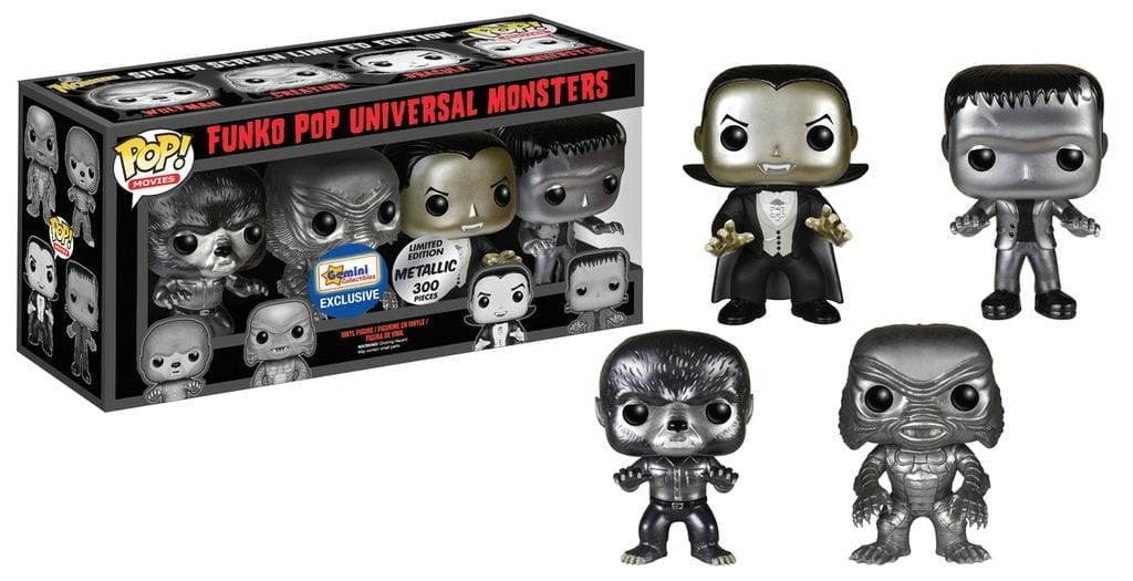 Universal Monsters 4 pack Gemini