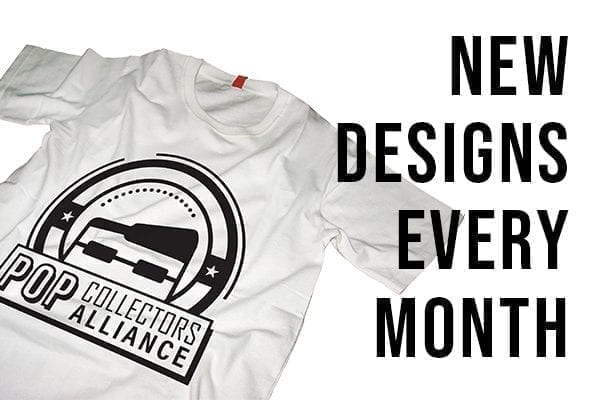 New T-Shirt Designs Every Month