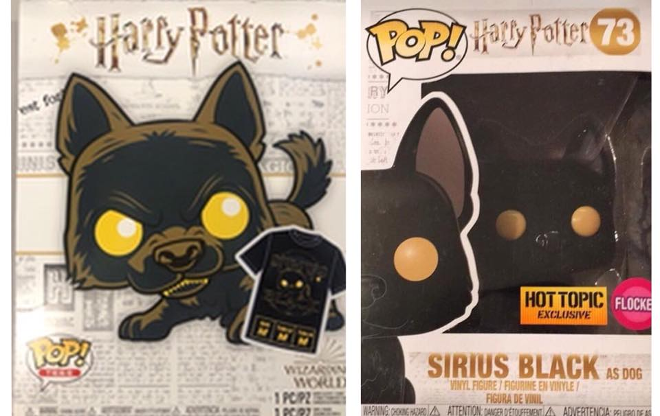 Sirius Black as Dog flocked with t-shirt combo at Hot Topic