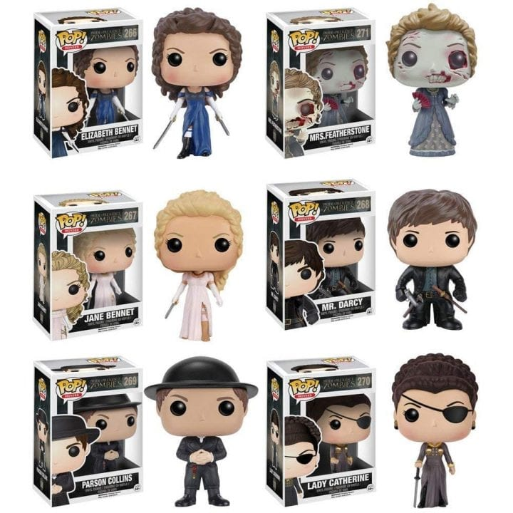 Pride and Prejudice and Zombies Funko pop