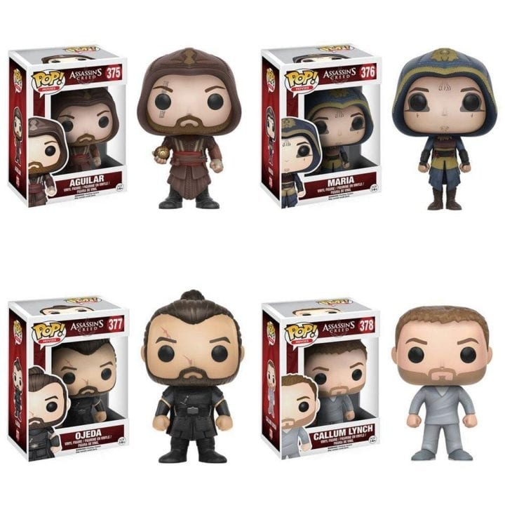 Assassins Creed Movie Funko Pops