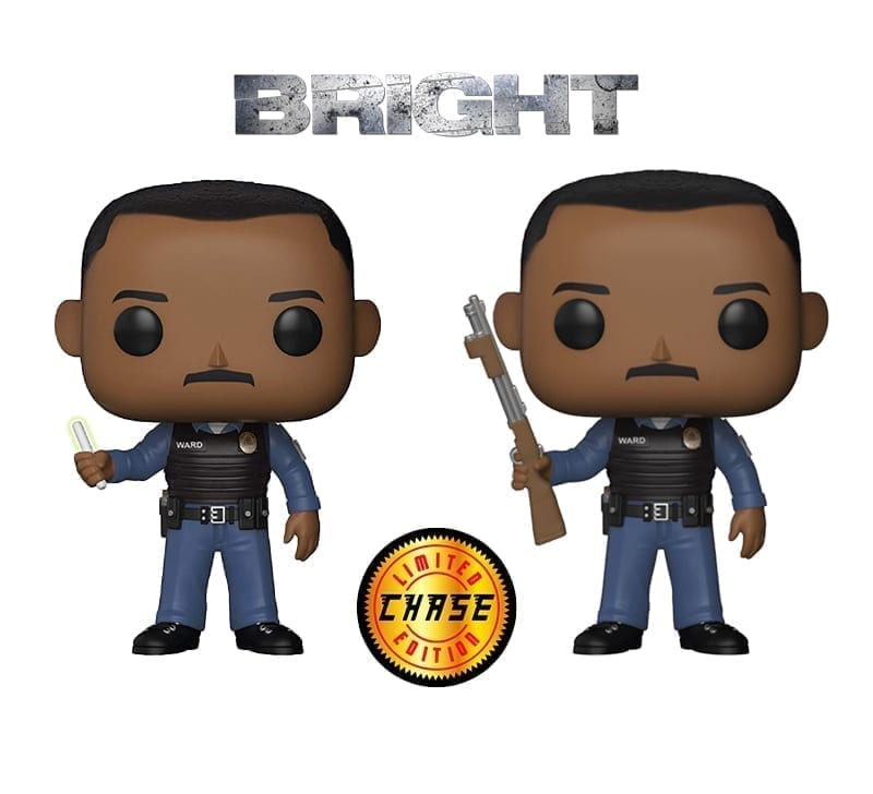 Bright Daryl Ward Chase Funko Pop