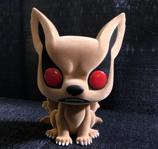 "Kurama 6"" Flocked Hot Topic Exclusive"