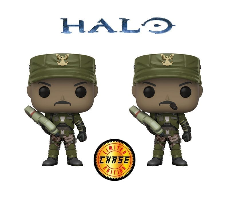 Sgt Johnson Chase Funko Pop