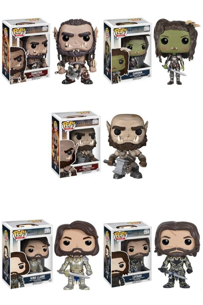 Warcraft the movie Funko Pop