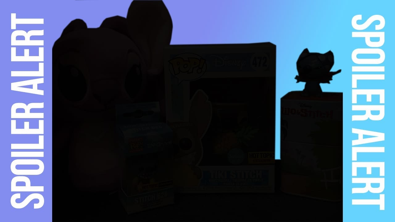 Disney Treasures Spoiler Alert - Lilo and Stitch