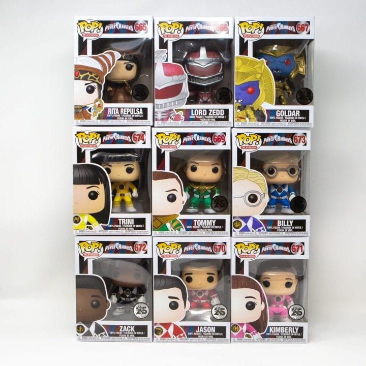 Mighty Morphin Power Rangers 25th Anniversary Set Giveaway