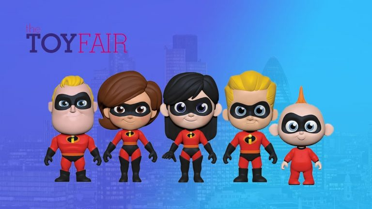 London Toy Fair: The Incredibles 5 Star