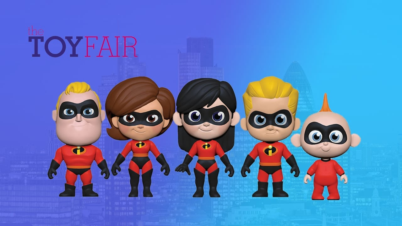 Toy Fair The Incredibles 5 Star