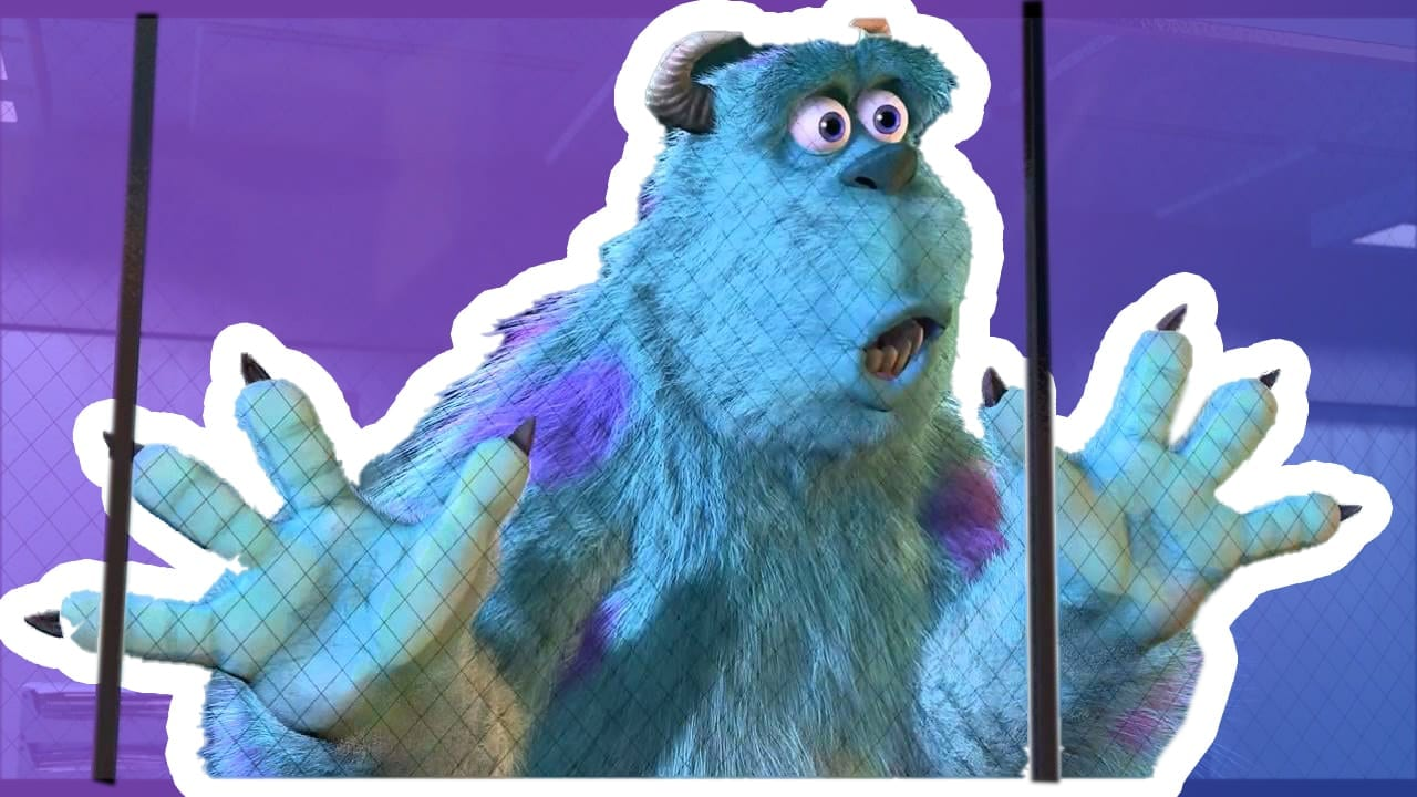 Sully from Monsters Inc hinting at Sully from the Funko Funcast