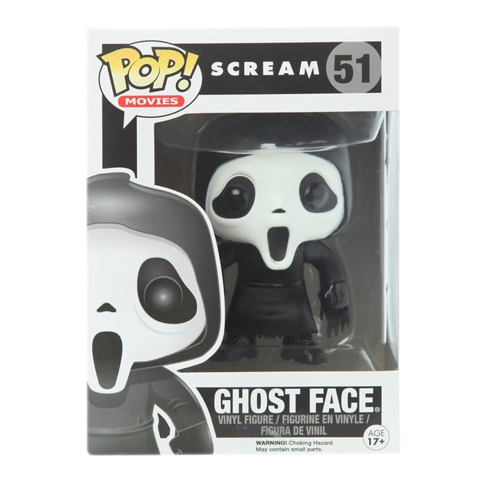 Fake Ghost Face Scream Funko Pop Pop Image