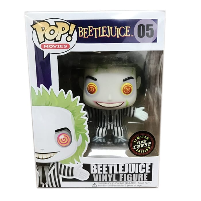 Fake Glow in the Dark Beetlejuice Chase