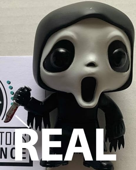 Real Ghost Face Funko Pop Bloody Knife
