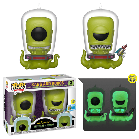 Funko Pop Simpsons Alien 2 Pack placeholder link