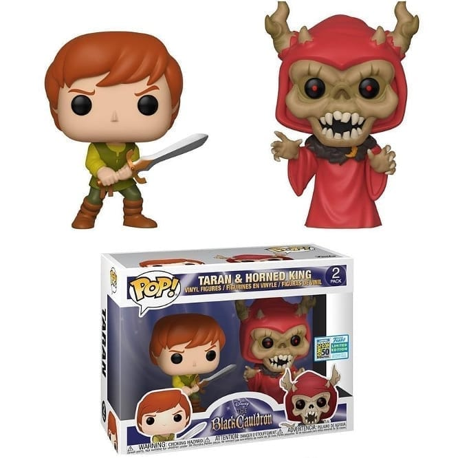 Funko Pop Dark Cauldron - Taran & Horned King 2 Pack placeholder link