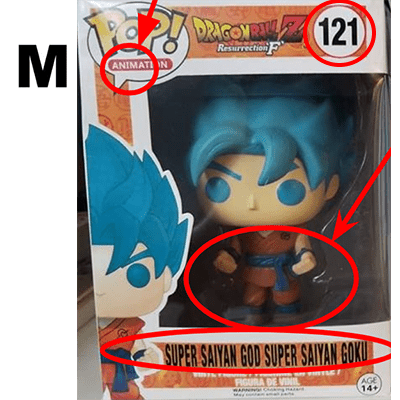 Super Saiyan God Super Saiyan Goku, Box-Fake