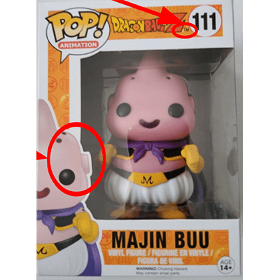 Majin Buu, Box - Real