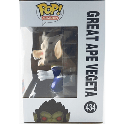Great Ape Vegeta, Box Side - Fake