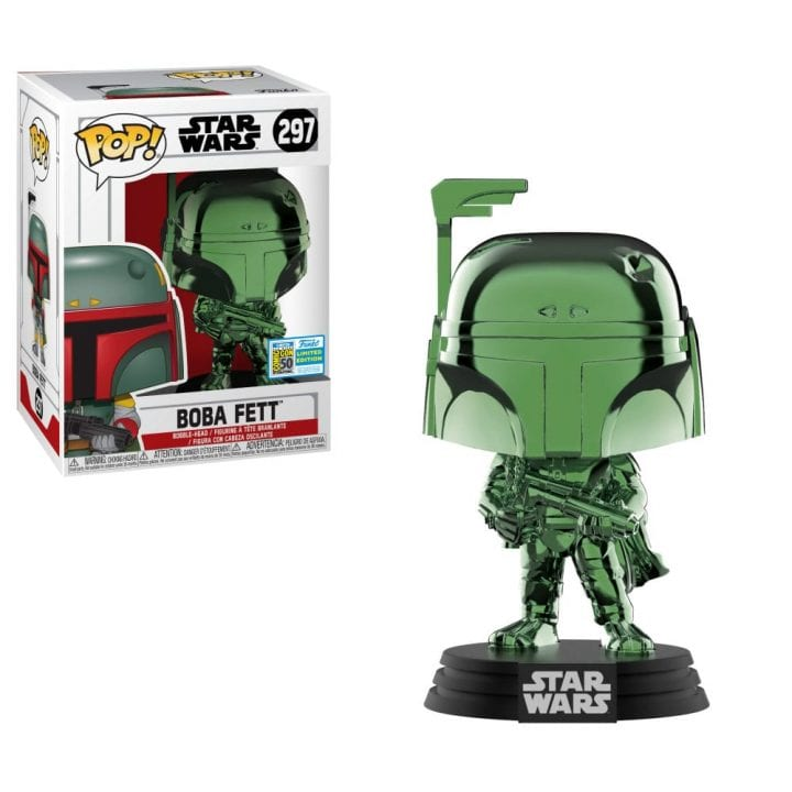 Funko Pop Green Chrome Boba Fett placeholder link