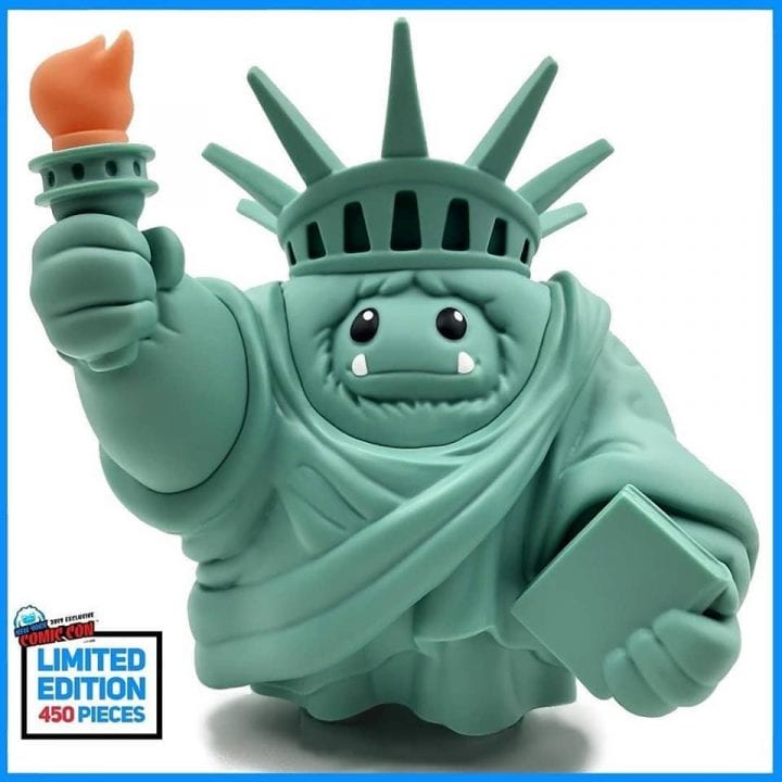 Abominable Toys Lady Liberty Chomp NYCC 2019 LE400