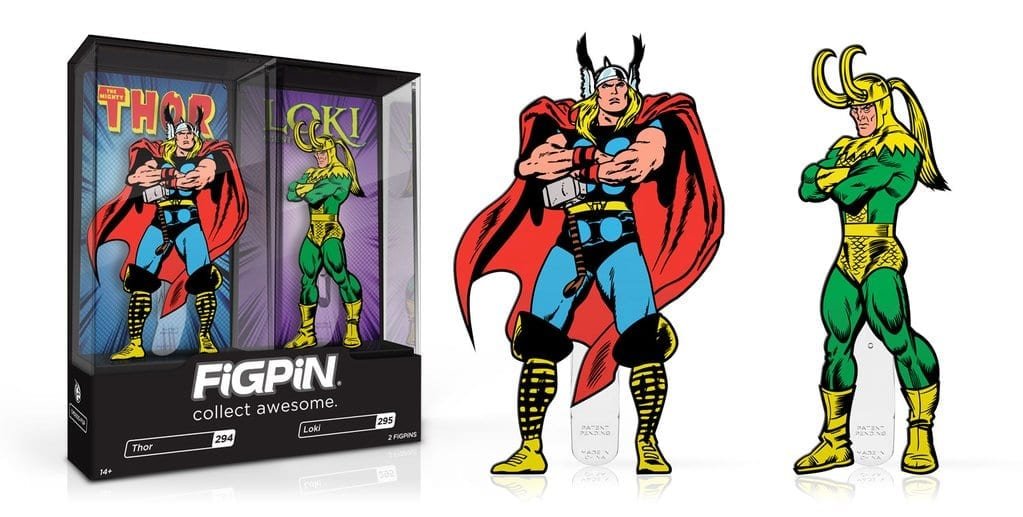 FiGPiN 294 Thor and Loki classic NYCC exclusive
