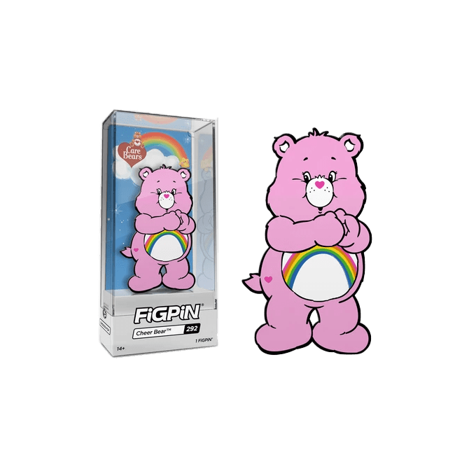 FigPin Care Bear Cheer Bear NYCC 2019