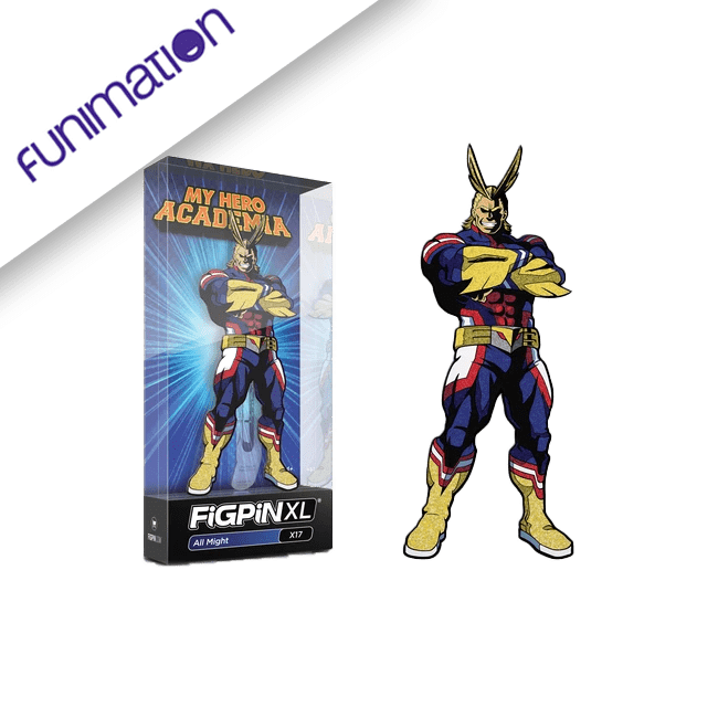 FigPin Funimation exclusive glitter all-might NYCC 2019