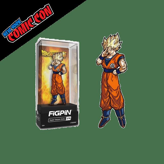 FigPin Super Saiyan Goku NYCC 2019