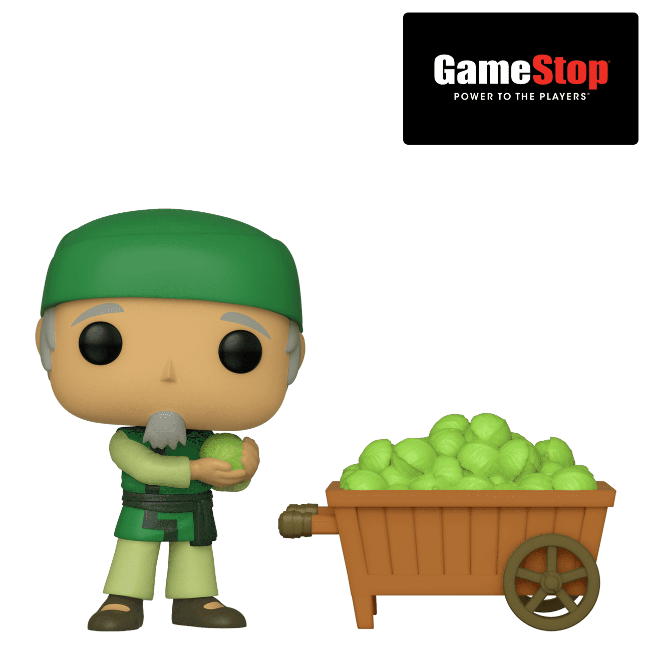 Funko Pop Cabbage Man and Cart NYCC 2019