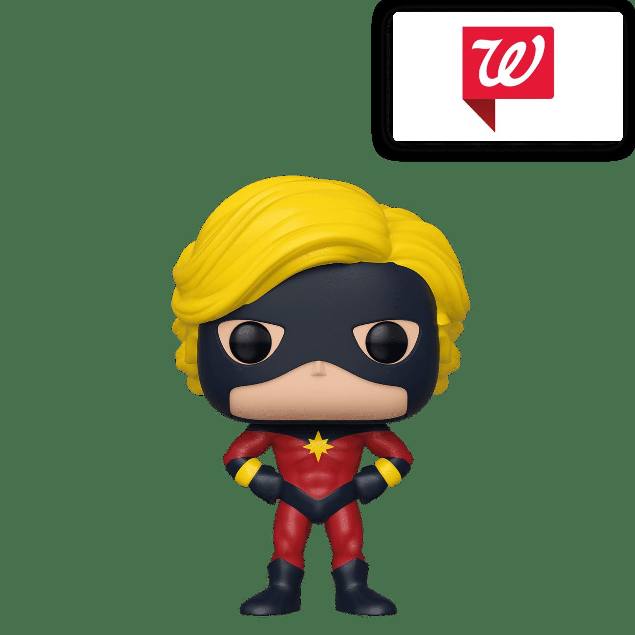 Funko Pop Captain Mar-Vell NYCC 2019