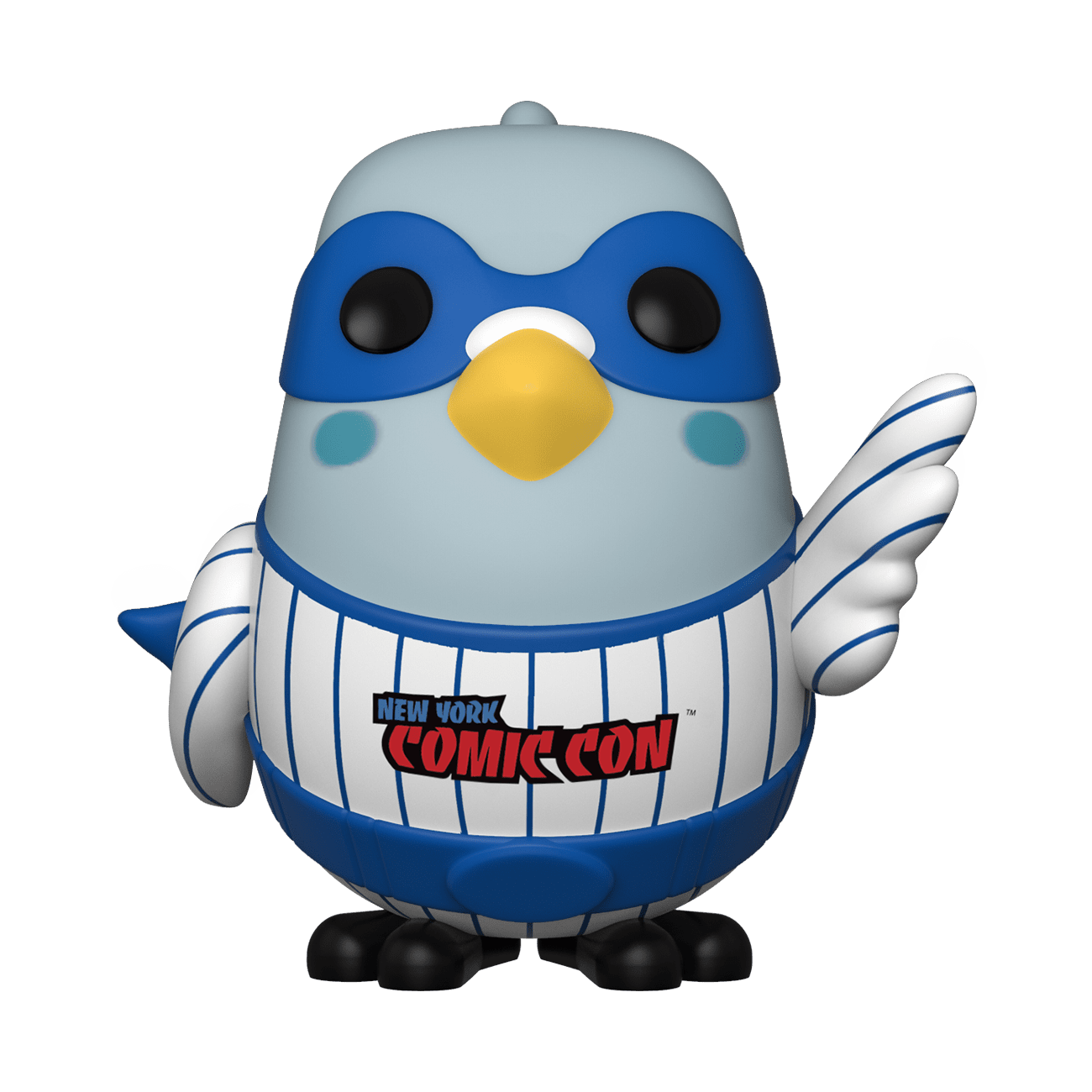 Funko Pop Pin Stripe Super Hero Pigeon NYCC 2019