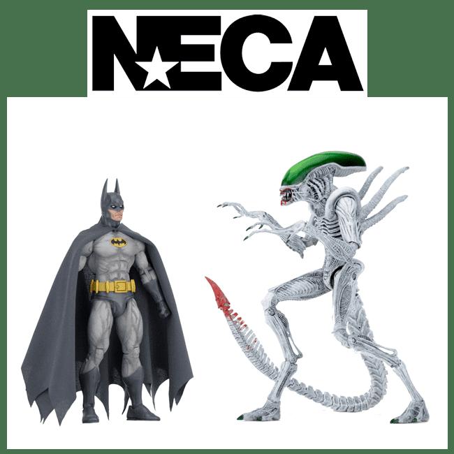 NECA Batman vs Alient Xenomorph NYCC 2019