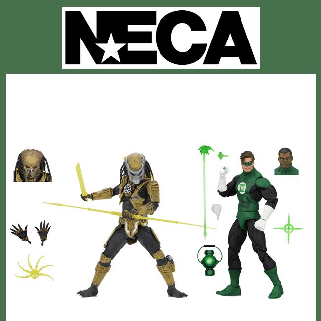 NECA Green Lantern vs Predator NYCC 2019