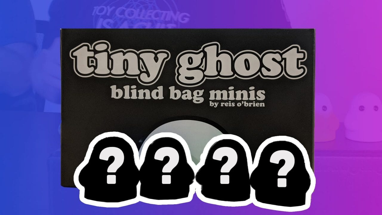 Tiny Ghost Blind Bag Minis Series 2 Unboxing