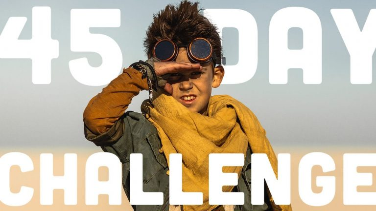 We Are Taking A 45 Day Challenge