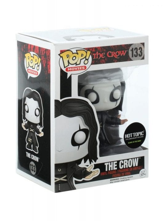 Glow in the Dark The Crow Fake