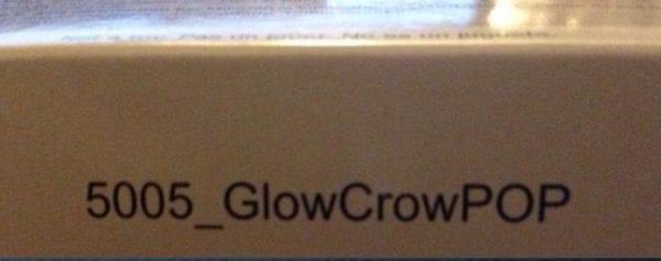 The Crow GITD Bow Bottom lip